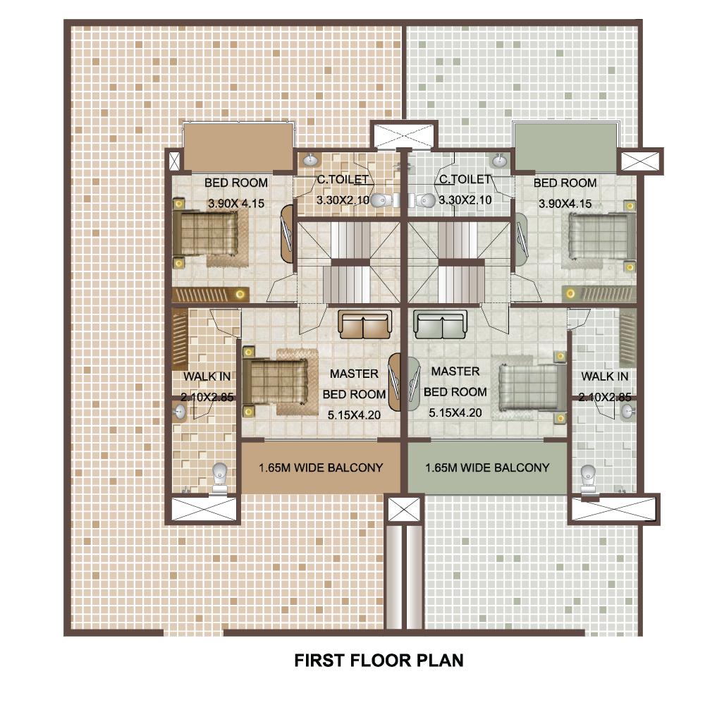 Prabhav group for Viceroy floor plans